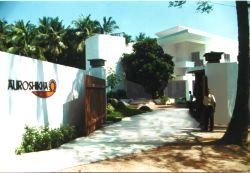 Das Auroshikha-Gebäude in Pondicherry