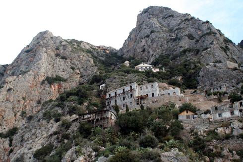 kleines Bergkloster auf Athos